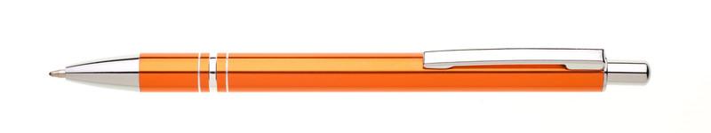 oranžové propisky kovové